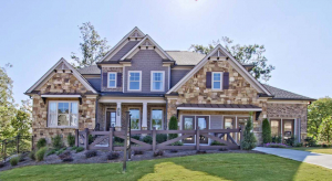 The Barkley Model Home at The Hills at Hamilton Mill by Chafin Communities