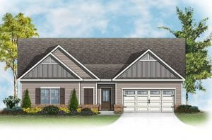 Ashford Plan by Chafin Communities 2020 Elevation Color