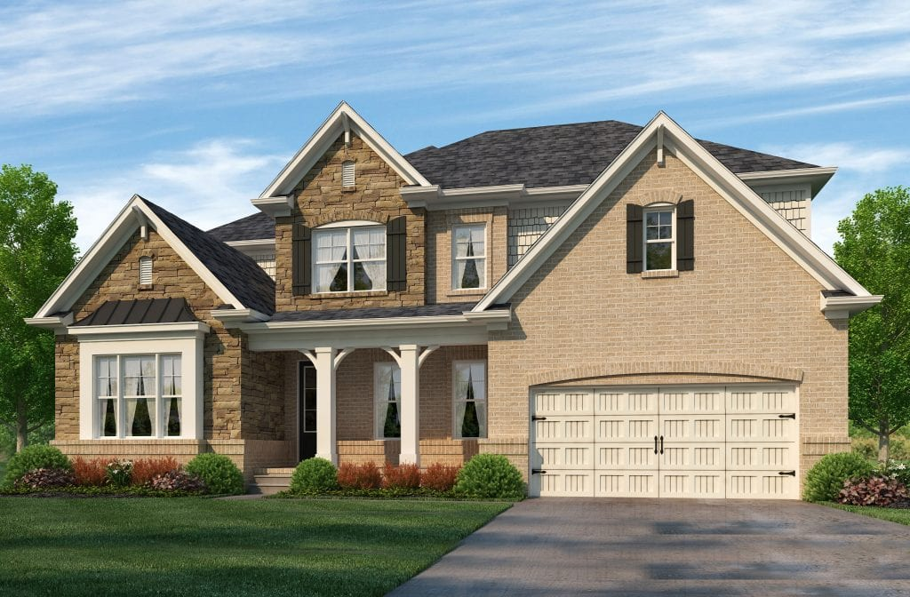 Barkley Floorplan | Beds: 5 | Baths: 4.5 Stories: 2  | Sqft: 3700