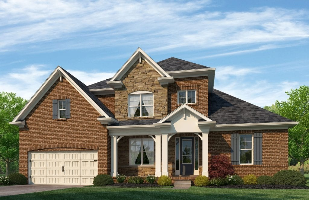 Berkshire Floorplan | Beds: 4 - 5 | Baths: 3.5 - 4.5 Stories: 2  | Sqft: 2856-3150