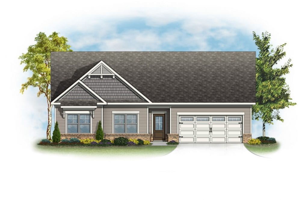 Brentwood Floorplan | Beds: 3 | Baths: 2 Stories: 1  | Sqft: 1801