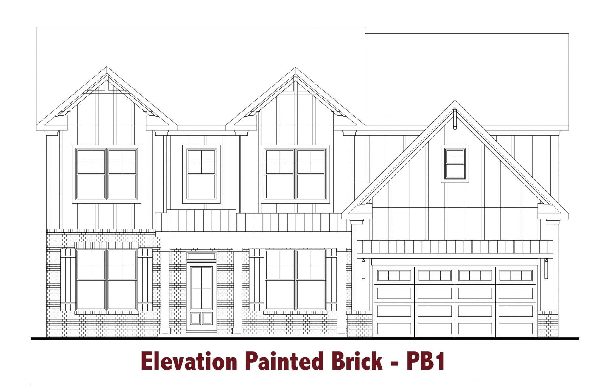 Brunswick-II elevations Image