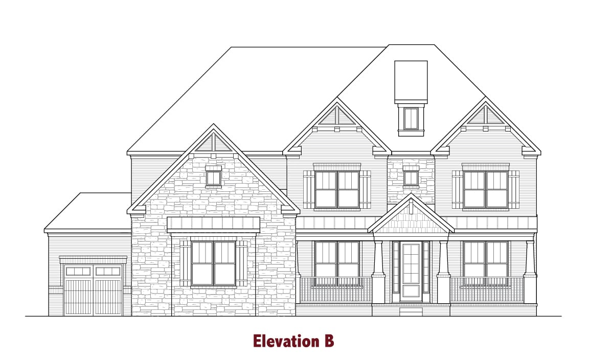 Castleberry elevations Image