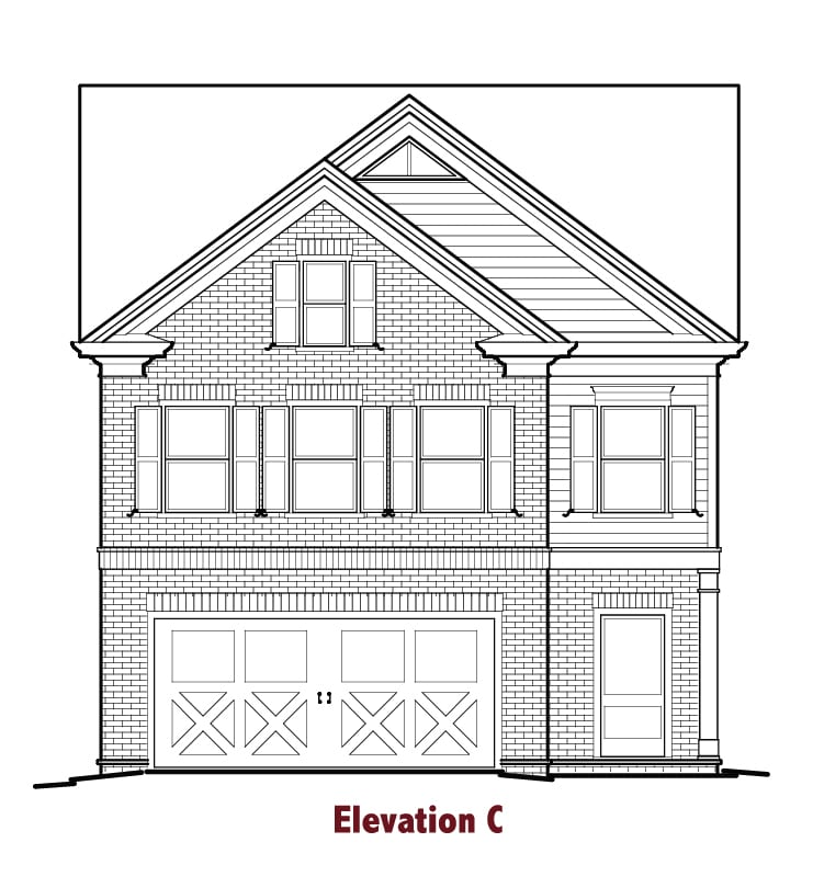 Hawthorn elevations Image