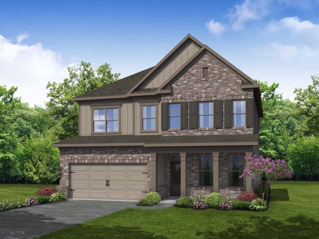 Lenox Floorplan | Beds: 3 - 5 | Baths: 2.5 - 3 Stories: 2  | Sqft: 2665