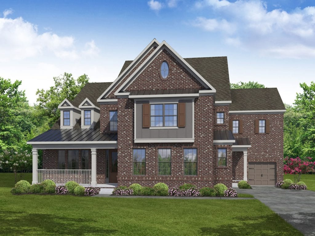 Nottingham Floorplan | Beds: 5 | Baths: 4.5 Stories: 2  | Sqft: 4300-4670
