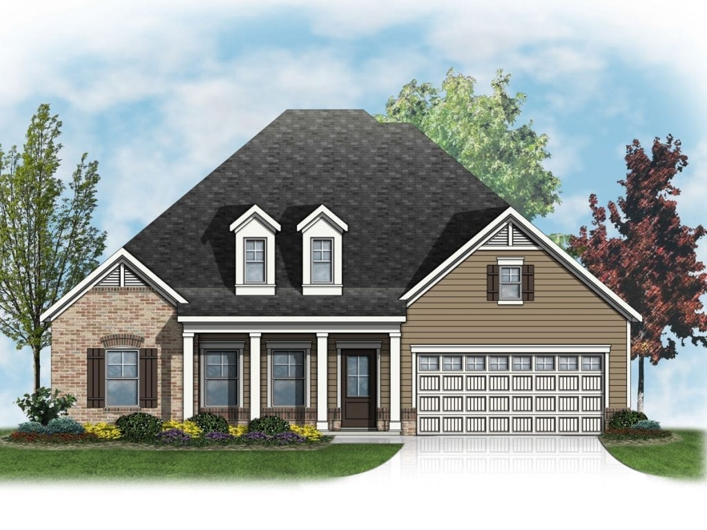 Oxford Floorplan | Beds: 3 - 4 | Baths: 2 - 3 Stories: 1.5  | Sqft: 2174