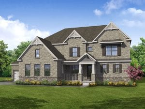 Prescot Plan by Chafin Communities 2020 Elevation Color