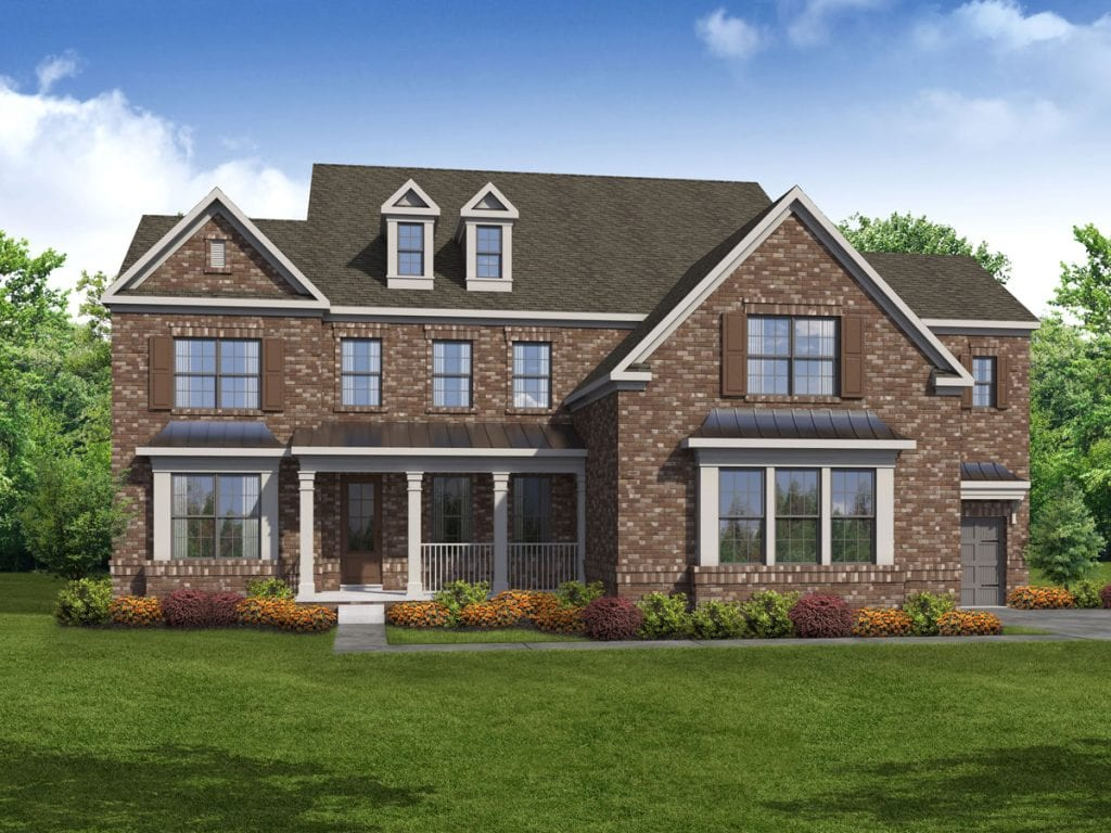 Sheffield Floorplan | Beds: 5 | Baths: 4.5 Stories: 2  | Sqft: 4310