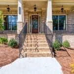 Covered Front Porch 2 Story New Home Plan The Tudor Plan by Chafin Communities