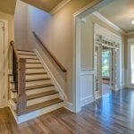 Foyer from Stairs 2 Story New Home Plan The Tudor Plan by Chafin Communities