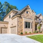 Front Exterior 2 Story New Home Plan The Tudor Plan by Chafin Communities