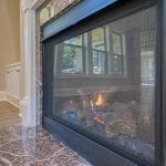 Great Room Fireplace 2 Story New Home Plan The Tudor Plan by Chafin Communities