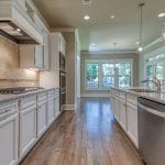 White Kitchen 2 Story New Home Plan The Tudor Plan by Chafin Communities