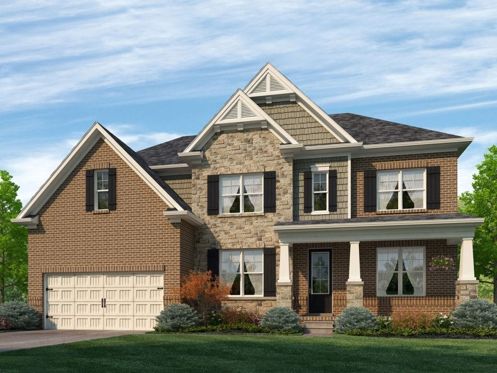 Westfield Floorplan | Beds: 5 - 6 | Baths: 4 - 5 Stories: 2  | Sqft: 3241-3500