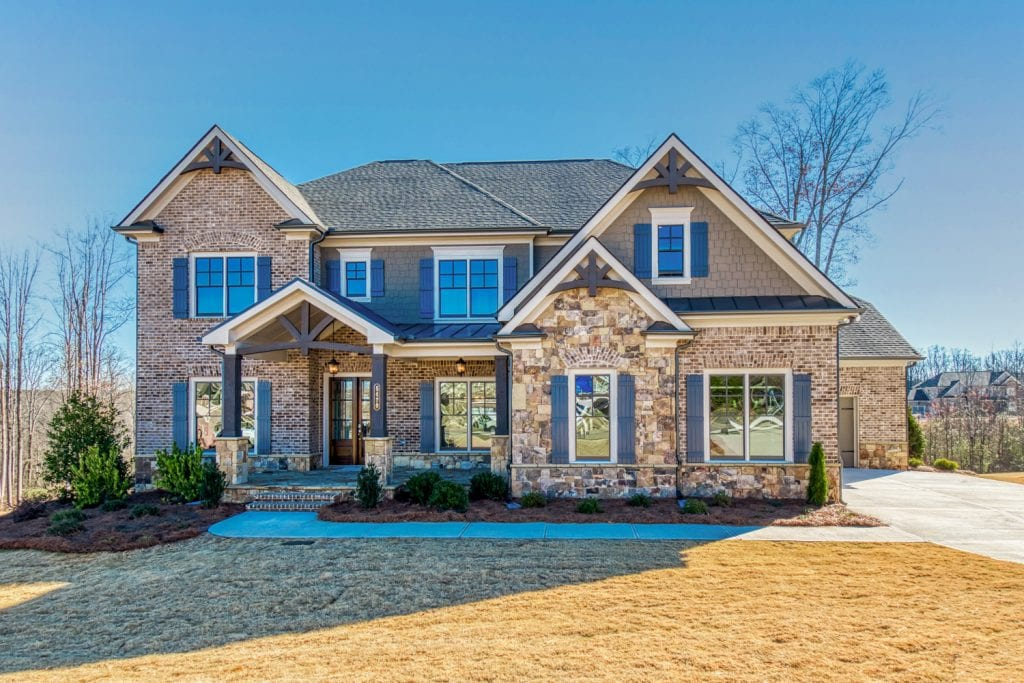 Oglethorpe Floorplan | Beds: 5 | Baths: 4.5 Stories: 2  | Sqft: 4687