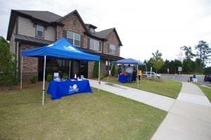 Mundy Mill Fall Festival at model home by Chafin Communities