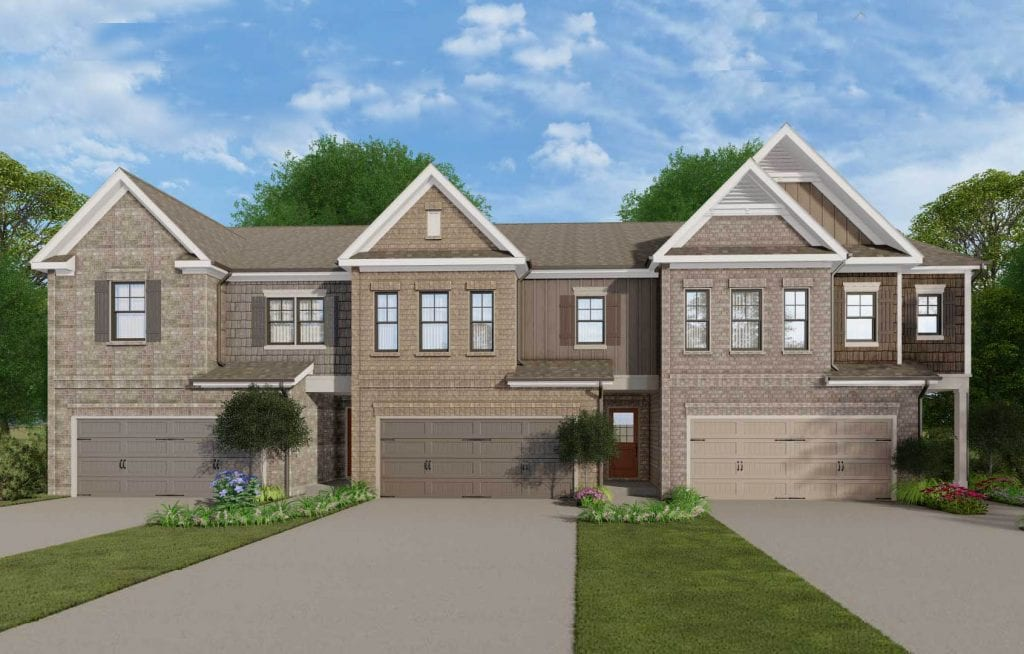 Holdbrooks Floorplan | Beds: 3 | Baths: 2.5 Stories: 2  | Sqft: 2036