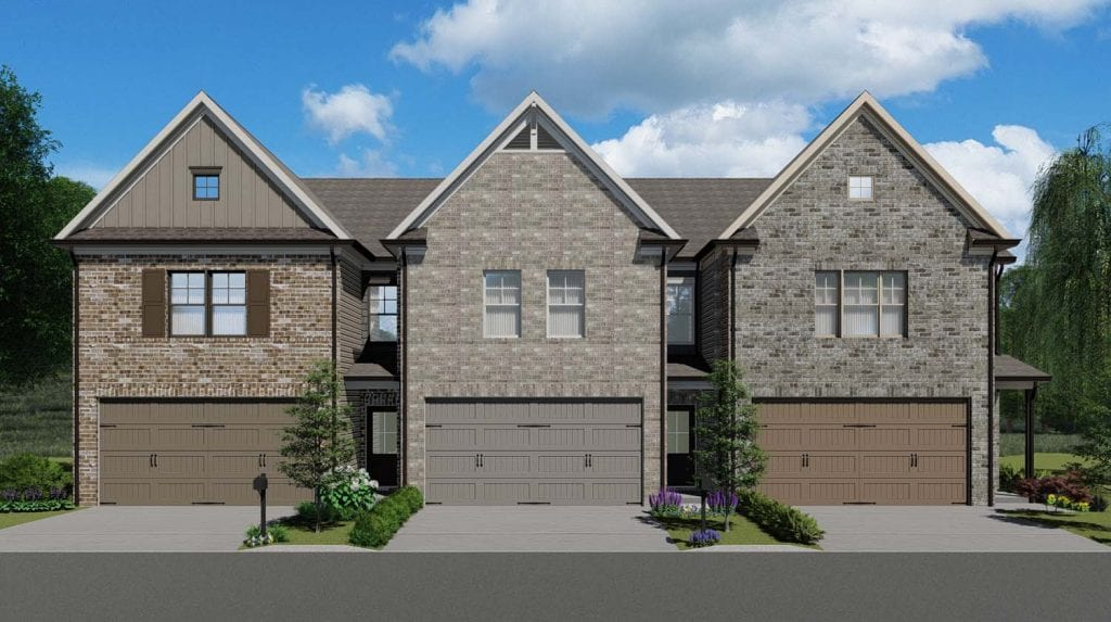 Cheshire Floorplan | Beds: 3 | Baths: 2.5 Stories: 2  | Sqft: 1850