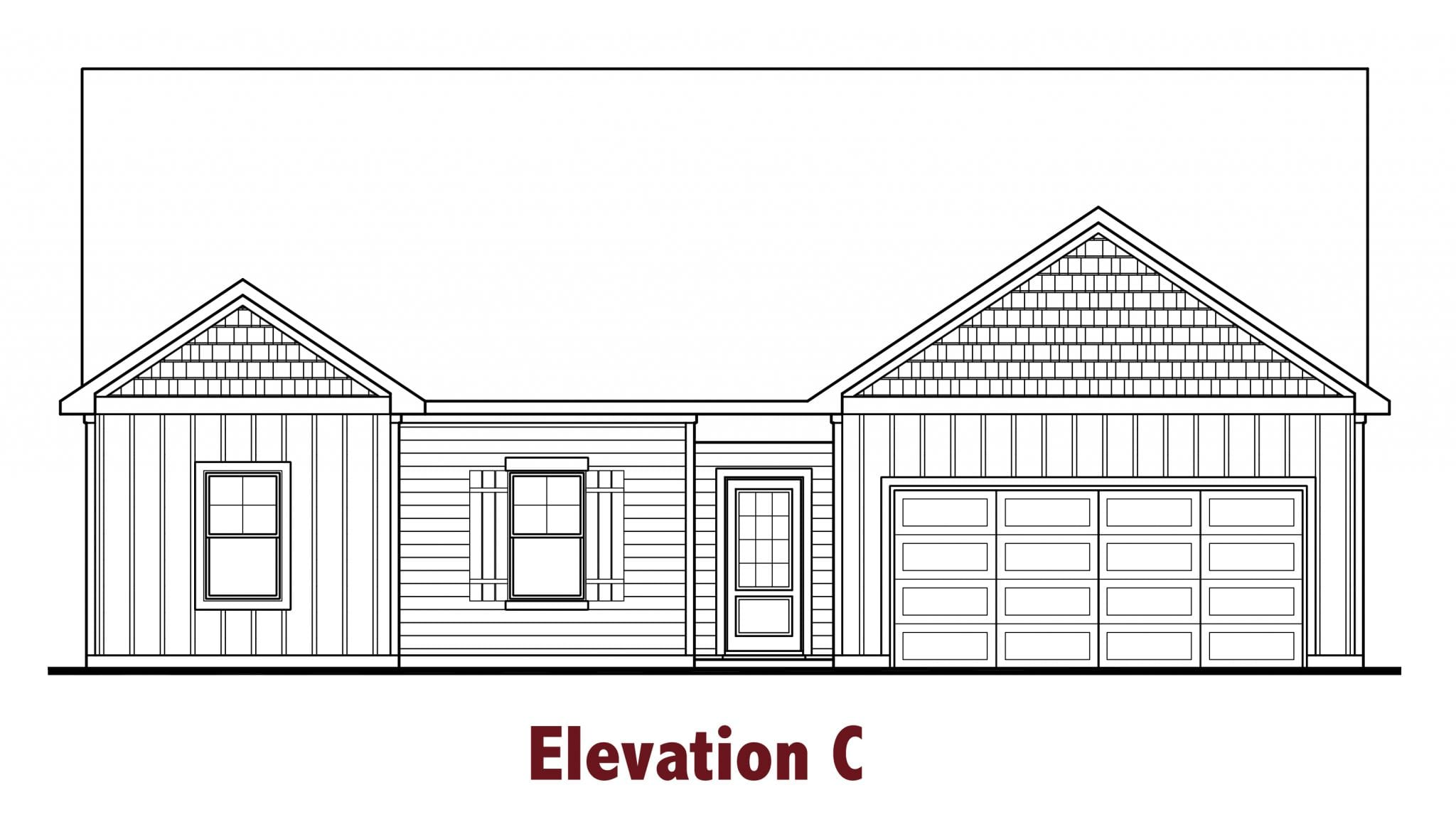 Denton elevations Image