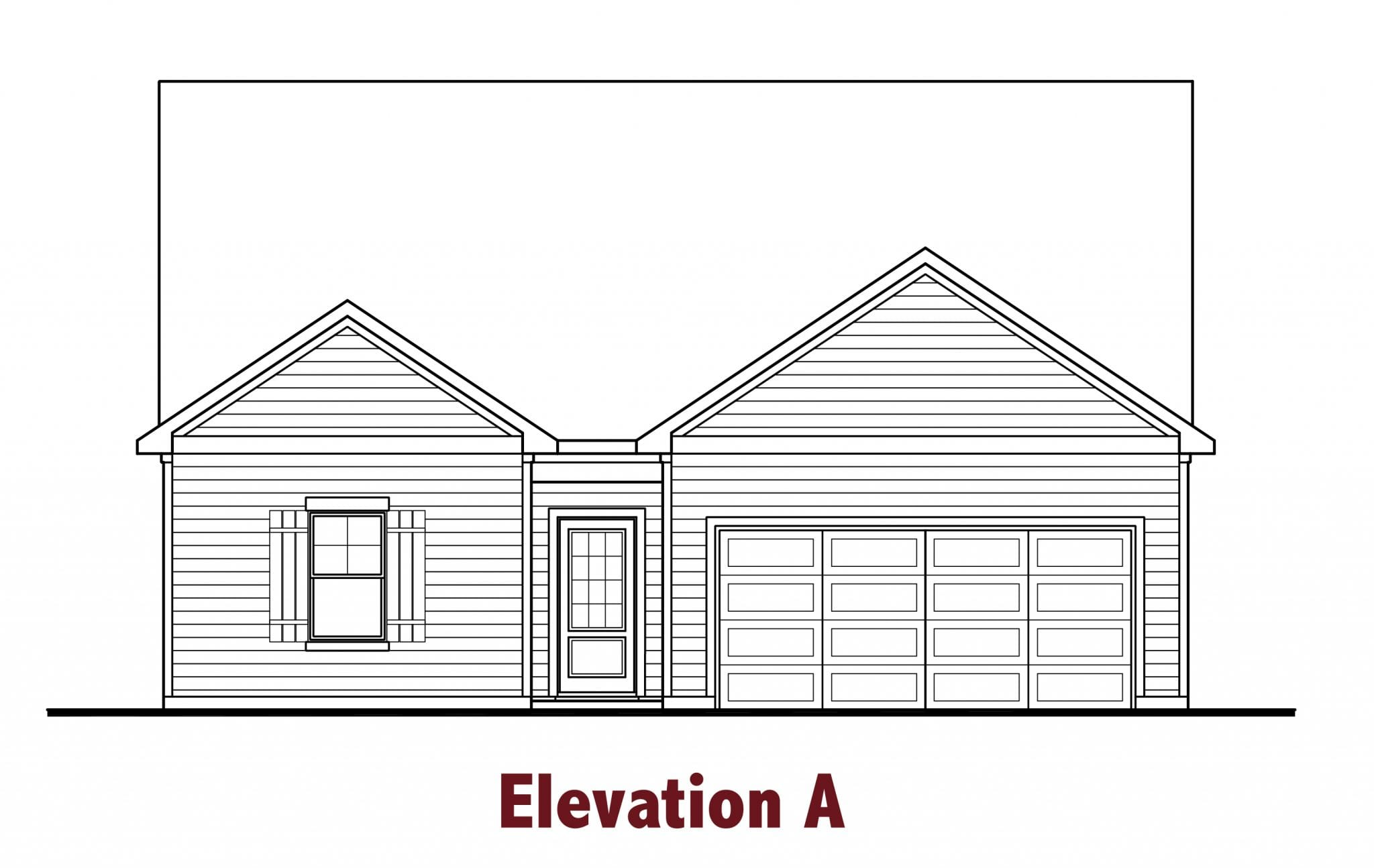 Edmond elevations Image