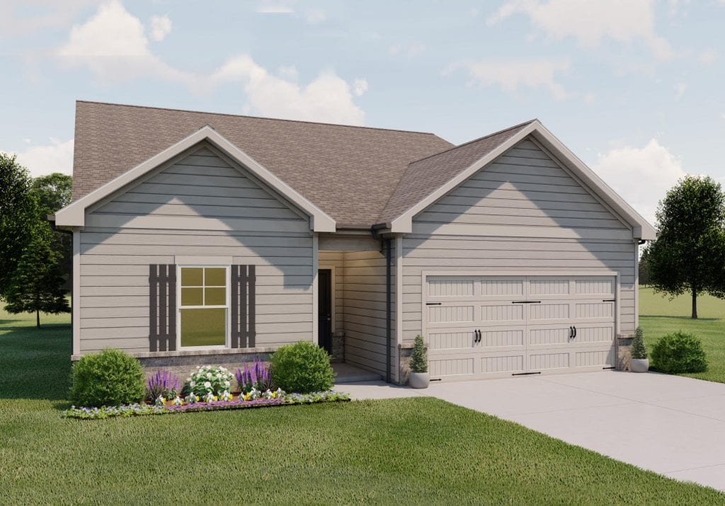 Edmond Floorplan | Beds: 3 - 4 | Baths: 2 - 3 Stories: 1.5  | Sqft: 1801-2131