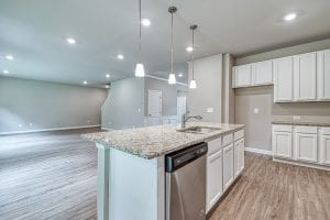 Everett - Chafin Communities - Kitchen to Family Room