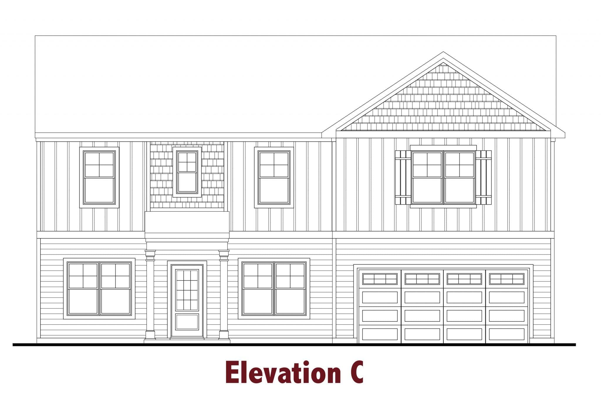 Greenbrier elevations Image