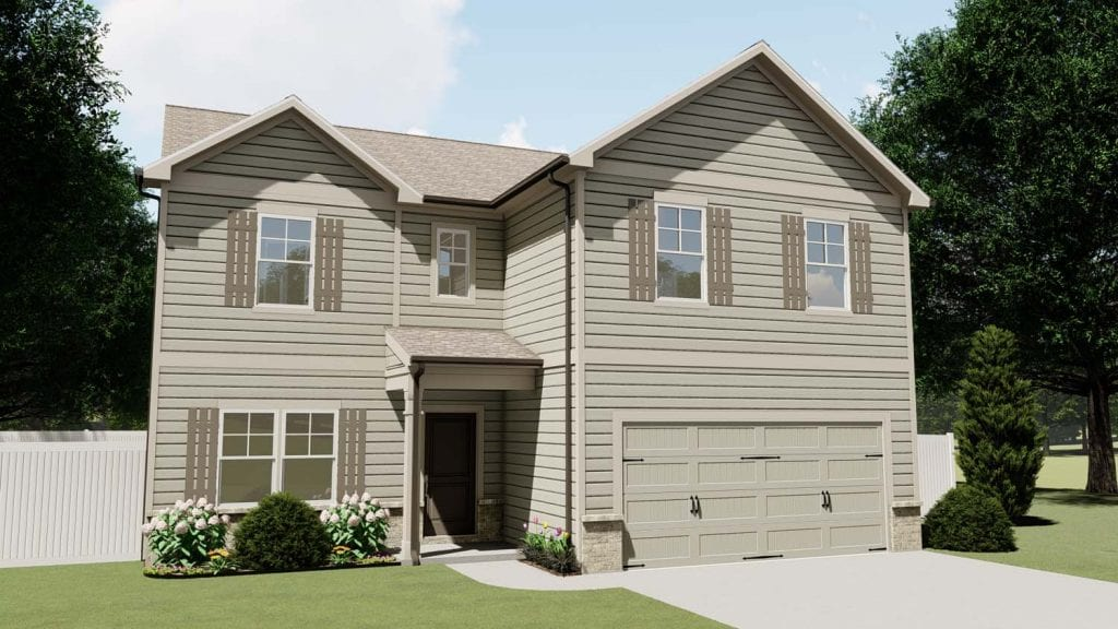 Kirkwood Floorplan | Beds: 5 - 6 | Baths: 4 Stories: 2  | Sqft: 2800