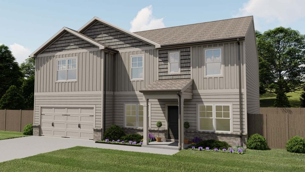 Richmond Floorplan | Beds: 5 - 6 | Baths: 3 Stories: 2  | Sqft: 3160