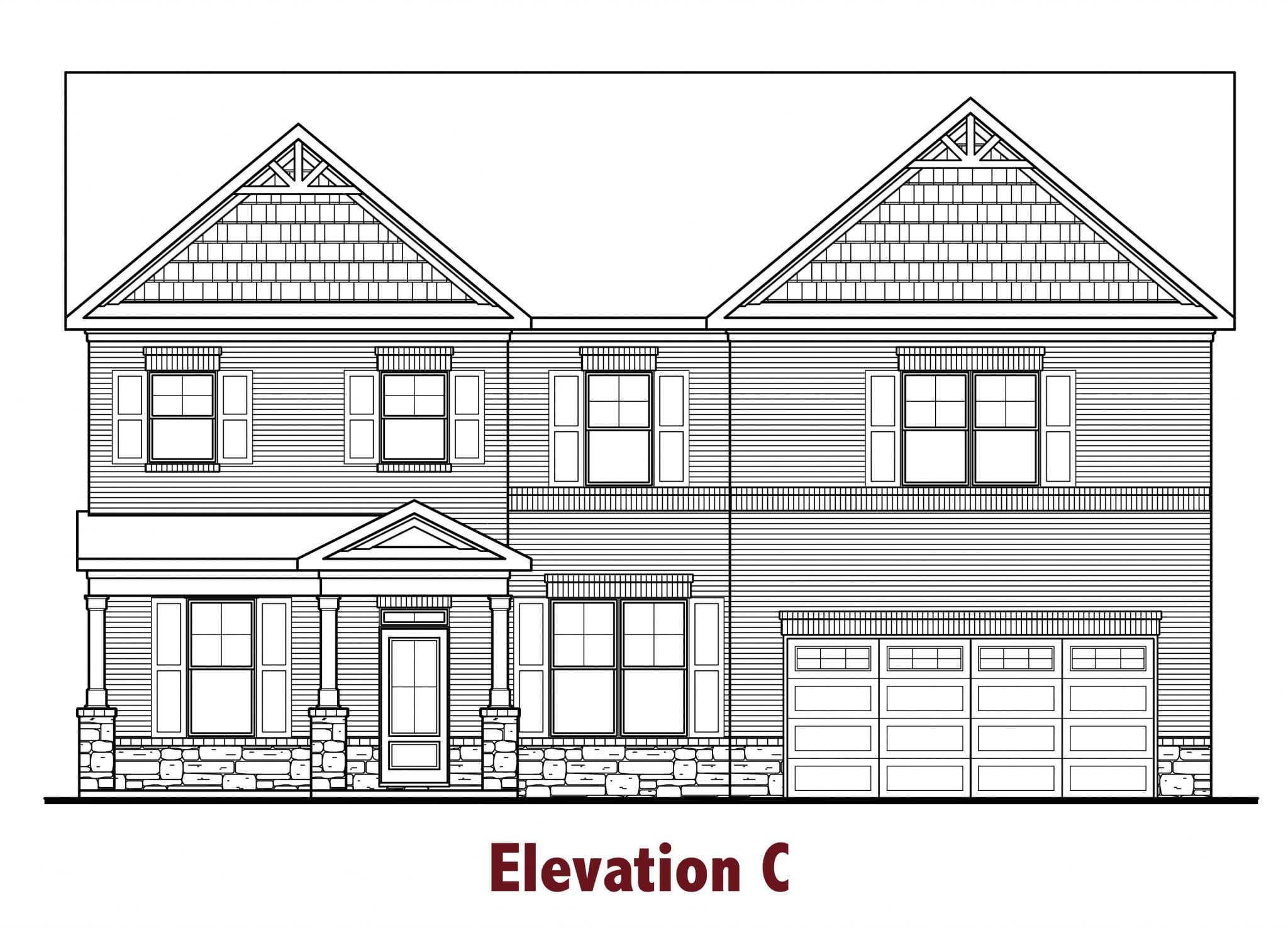 Cambridge elevations Image