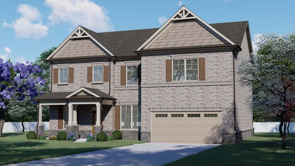Cambridge Floorplan | Beds: 4 - 5 | Baths: 3 Stories: 2  | Sqft: 3020