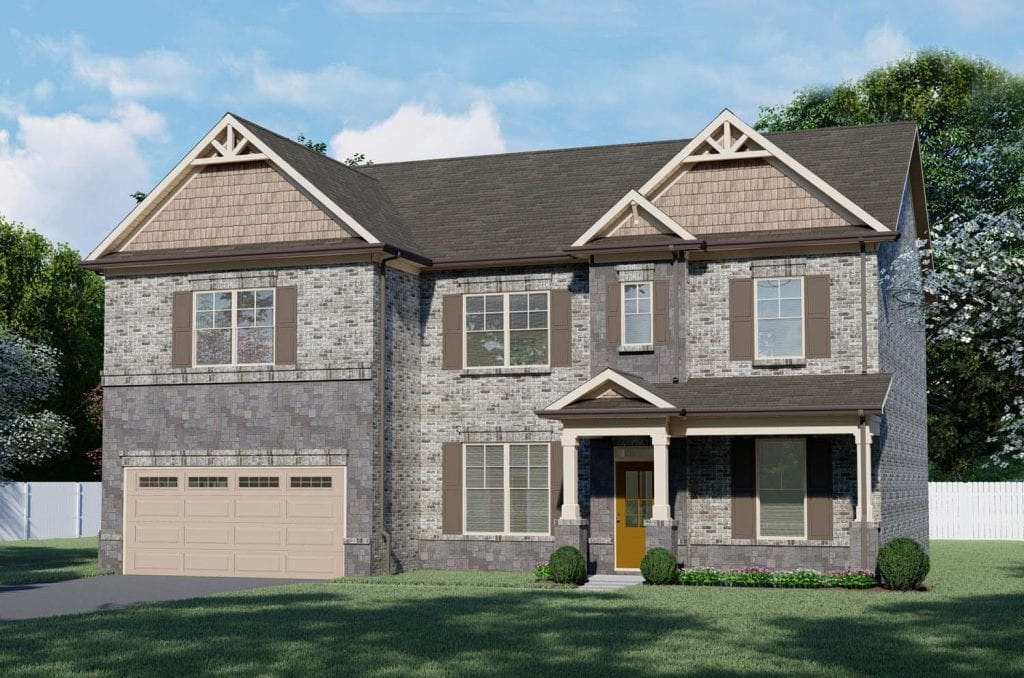 Preswick Floorplan | Beds: 5 | Baths: 3 Stories: 2  | Sqft: 3316