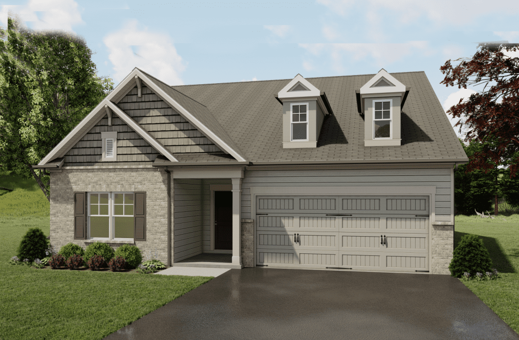 Brookfield Floorplan | Beds: 3 - 4 | Baths: 3 Stories: 1.5  | Sqft: 2461