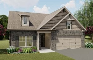 Riverstone Plan by Chafin Communities 2020-Elevation Color
