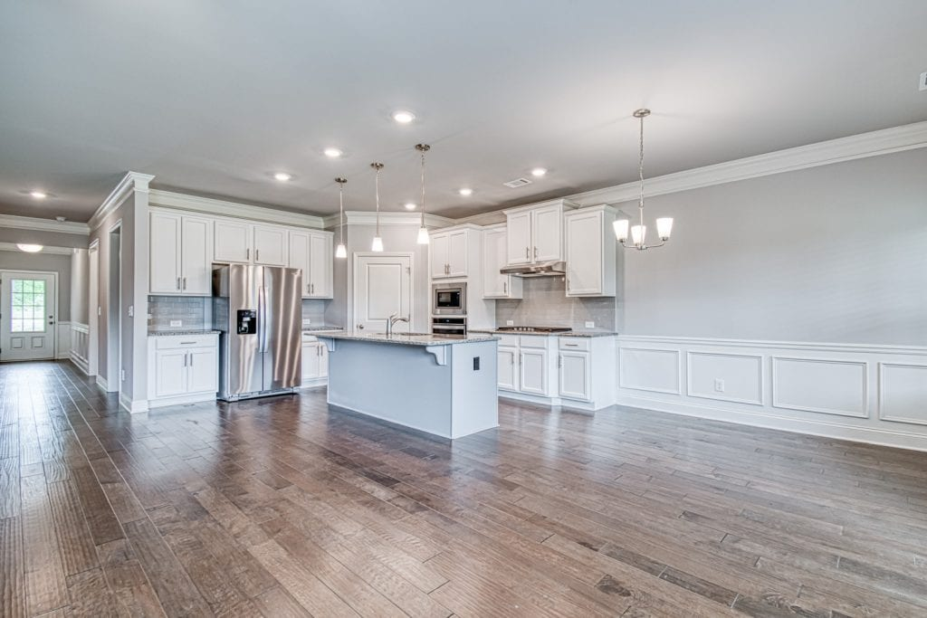 Spring Brook - Chafin Communities - Great Room to Kitchen