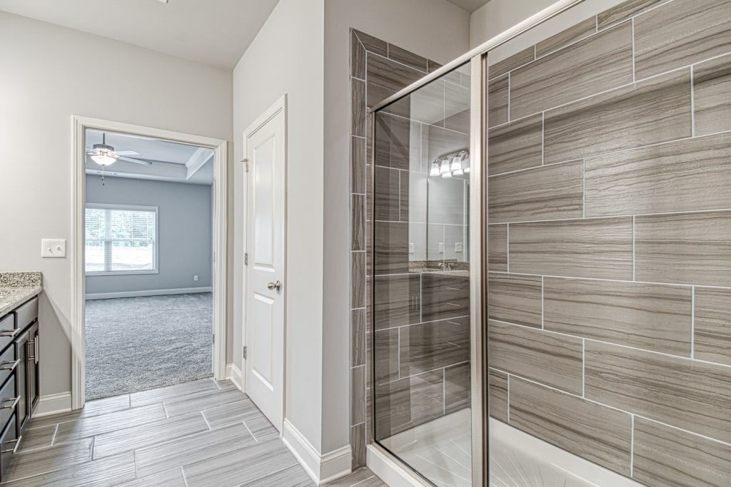 Spring Brook - Chafin Communities - Owner's Bath with Enlarged Shower