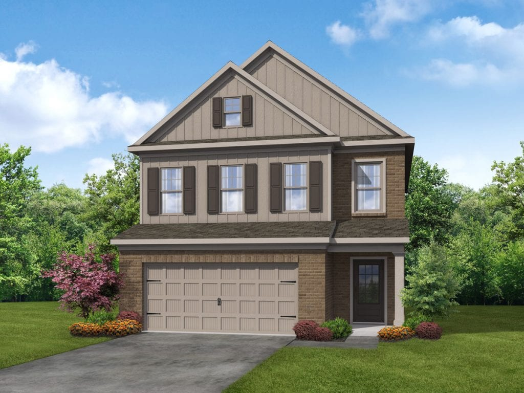 Sycamore Floorplan | Beds: 3 - 4 | Baths: 2.5 Stories: 2  | Sqft: 2240