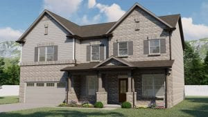Vickory Plan by Chafin Communities 2020-Elevation Color