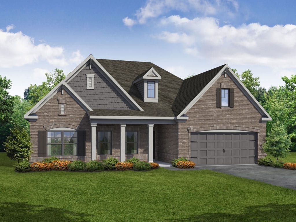 Wellington-II Floorplan | Beds: 2 - 4 | Baths: 2 - 3 Stories: 1  | Sqft: 2568