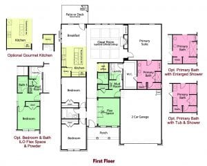 Westminster Plan by Chafin Communities 2020-First Floor