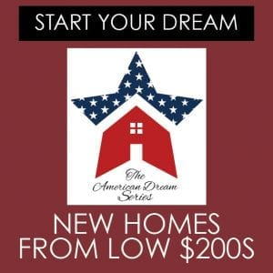 Affordable Homes by Chafin From the $200's The American Dream Series