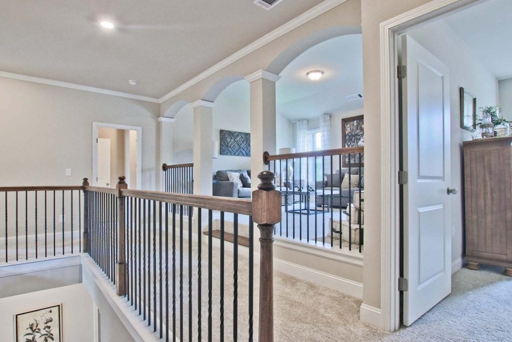 30-Turnbridge-Model-at-Village-at-Ivy-Springs-By-Chafin-Commiunities-Guest-Suite-with-Upper-Hall-Loft-Media
