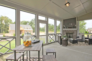 44-Turnbridge-Model-at-Village-at-Ivy-Springs-By-Chafin-Commiunities-Covered-Rear-Porch-Screened-In.
