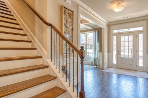 5-Parkside-by-Chafin-Communities-Model-at-Stone-Haven-Foyer-from-Stairs