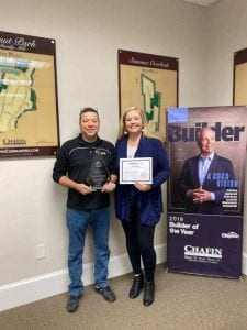 2-10 Platinum Award Chafin Communities 2019