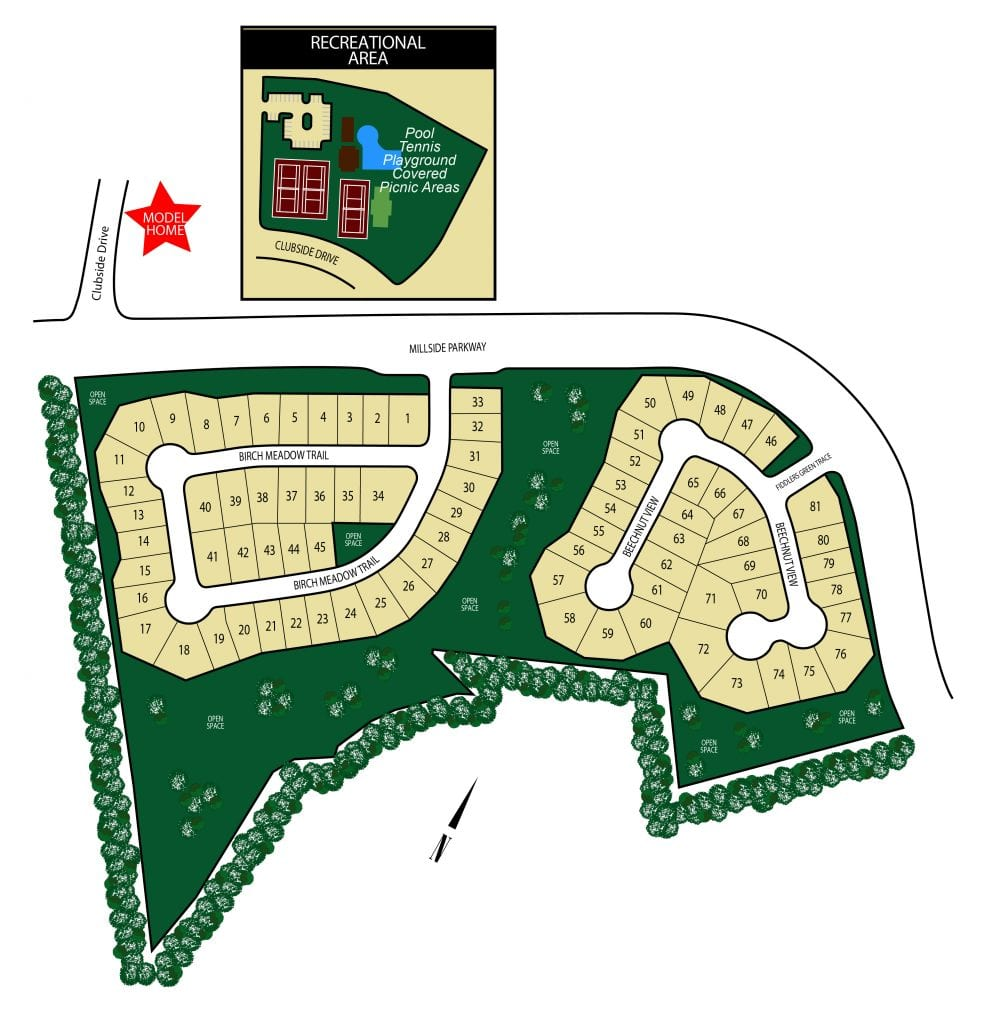 New Homes Site Plan By Chafin Communities_Linden Park West at Mundy Mill-01