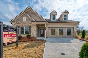 Brookfield - Chafin Communities - Front- Model Home at Brookfield Farm