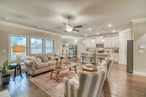 10 Brookfield - Chafin Communities - Great Room to kitchen