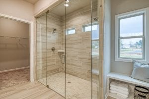 19 Brookfield - Chafin Communities - Owner's Bath with Enlarged Shower